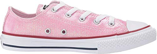 Converse Chuck Taylor All Star, Zapatillas Unisex Niños, Rosa (Pink Foam/Enamel Red/White 000), 38 EU