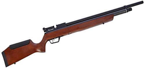 Crosman BP1764LW Marauder .177 with Lothar Walther Barrel (Wood) PCP Powered, Multi-Shot Bolt-Action Hunting Air Rifle with Adjustable Hardwood Stock
