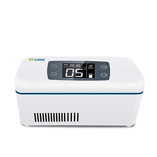 12-Stunden-Insulin Kühl Kühlbox 2~8 ℃ tragbar Reise-Drug Reefer Interferon Kühlschränke Autokühlvitrine Raum: 175 * 60 * 26mm for Auto/Reise/Zuhause