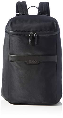 HUGO Herren Luxown_Backpack Rucksack, Black1, Normal