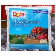 Dole Individual Quick Frozen Mixed Berry Fruit, 5 Pound -- 2 per case.
