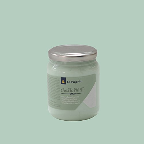La Pajarita Chalk Paint Pintura Tiza Mint , 175 ml
