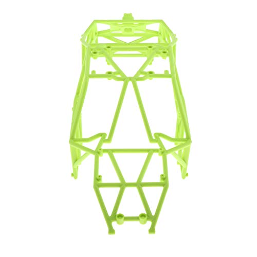 Bonarty RC Car Body Frame Plastic Roll Cage Chassis Frame for 1/12 Wltoys 12428 RC Car DIY Rock Crawler