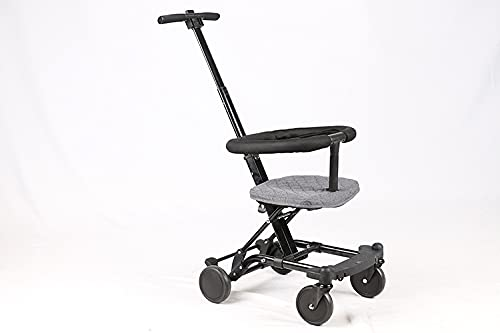 Fariox Stable and Safe Baby Strollers Lightweight Stroller One Hand, Easy Fold Stroller with Bumper Bar Aluminium Alloy Light Weight Toddler Carriage/OEM Rain Cover Compact Baby Stroller