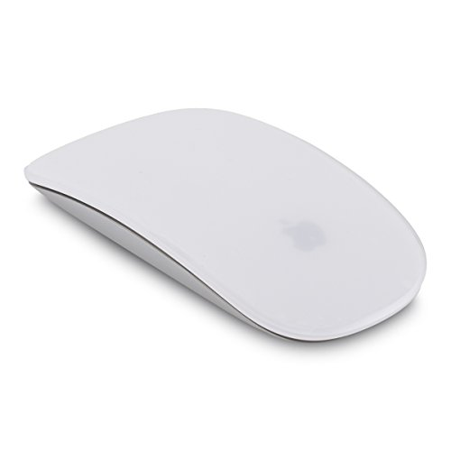 kwmobile Soft Skin Schutz Folie kompatibel mit Apple Magic Mouse 1/2 - Transparent - matt, robust, rutschsicher