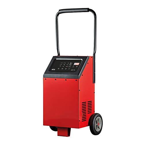 AEG 10091 Mikroprozessor Batterie Ladegerät LT 60, 12/24 Volt, 9 Stufen, 60 Ampere, Temperaturgesteuert, Starthilfe, Power Supply