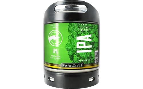 Cerveza PerfectDraft un barril de 6 litros de Goose Island IPA - IPA. Máquina de tiro casera. Incluye un depósito de 5 euros.