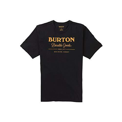Burton Herren Durable Goods T-Shirt, True Black, L