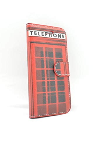OLIVIASPHONES iPhone 7 Wallet Case - Red London...