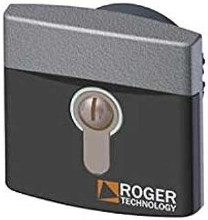 R85/60IAE Sleutelschakelaar Inbouw diameter 60 mm in aluminium met Europese cilinder (DIN) ROGER