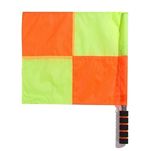 Vektenxi Fußball Schiedsrichter Flagge Wasserdichte Schiedsrichter Linienrichter Flagge Signal Flag Football Match Wettbewerb Schiedsrichter Ausrüstung 1 Stücke
