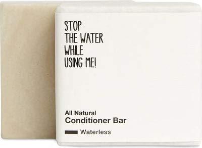 STOP THE WATER WHILE USING ME! All Natural Conditioner Bar (45g), feste Haarspülung ohne Zusätze, geeignet für alle Haartypen, klimaneutrale Naturkosmetik aus Deutschland, per Hand gefertigt
