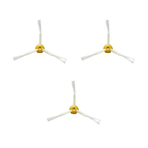 3 x Seitenbürsten für Irobot Roomba 500 Series Vakuum Reinigung Staubsauger Ersatzteil-Kit, Staubsauger Zubehör, Zubehör für den Innenbereich