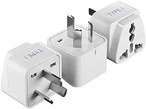 Ceptics World (USA, UAE, India & More) to Australia Universal Travel Plug Adapter (Type I) - Charge your Cell Phones, Lapt...