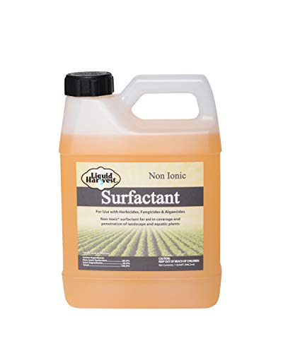 Liquid Harvest Surfactant for Herbicides Non-Ionic 32oz, Increase Product Coverage, Increase Product Penetration, Increase Product Effectiveness