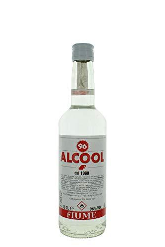 FIUME ALCOOL 96° ALIMENTARE PURO 50 CL - Alcol per liquori