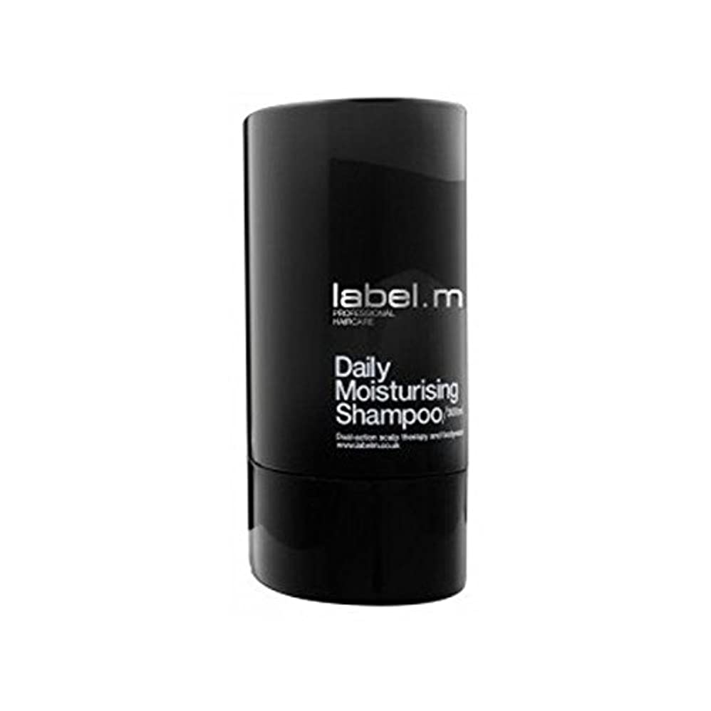 のど悪名高いやめるLabel.Men Daily Moisturising Shampoo (300ml) - .毎日保湿シャンプー(300ミリリットル) [並行輸入品]