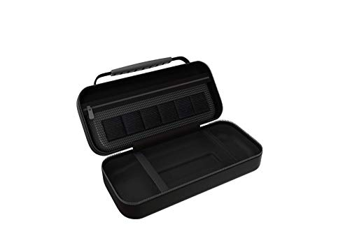 DRAGON SLAY Storage Carry Case for Nintendo Switch Lite with Game Cartridge Holders and Large Dual Pocket for Accessories