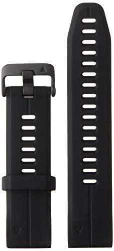 Garmin 010-12739-00 Quickfit 20 - Correa de reloj de silicona negra para D2 Delta S, Fenix 5S Plus y Fenix 5S