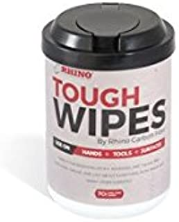 Heavy Duty Hand Wipes - Waterless Hand Cleaner Wipes For Tools, Epoxy Removal, Adhesive, Grease, Ink, Dirt & Many More Surfaces - Antibacterial Cleaning Wipes
