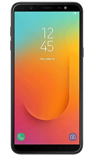 "Samsung Galaxy J8 64GB+4GB RAM J810M/DS 6.0"" HD+ Display, 4G LTE GSM Factory Unlocked Smartphone (International Model w/ 64GB MicroSD Bundle) (Black)"