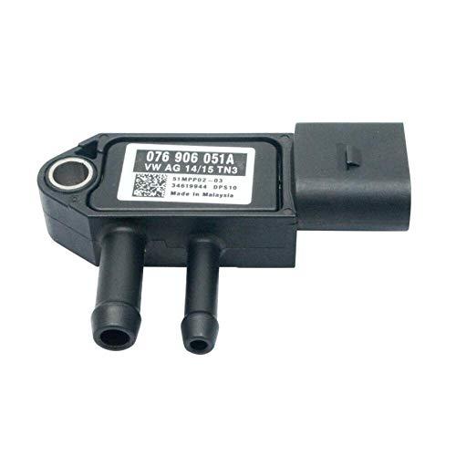 LNIEGE DPF Sensor DPF Sensor de partículas Diesel Presión diferencial del Filtro Sensor
