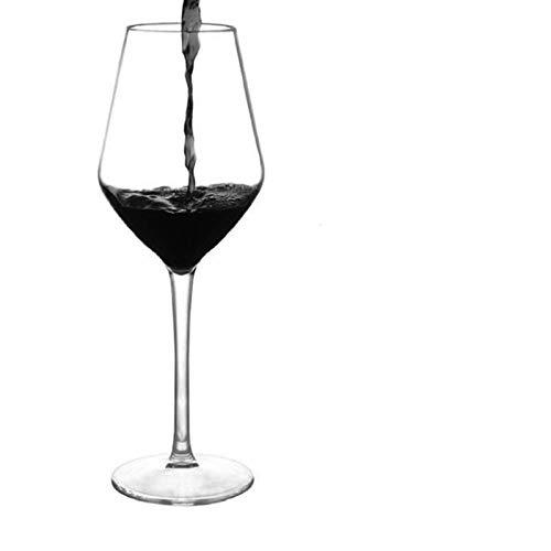 N-B Copas de Vino de plástico |Cáliz - Copas de Vino irrompibles de plástico Transparente Desechables Reutilizables inastillables