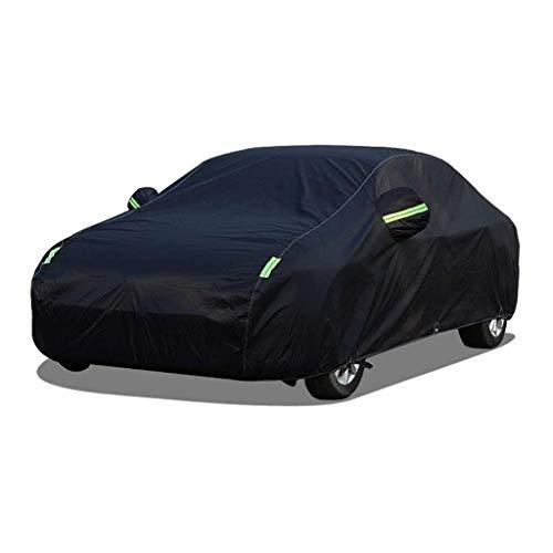 JJYY Funda para Coche Compatible con Nissan Micra C + C 2dr Cabrio 2005-2009, Lona Impermeable para Coche con Forro de algodón, Transpirable, Resistente al Viento, Antipolvo/UV, Inter