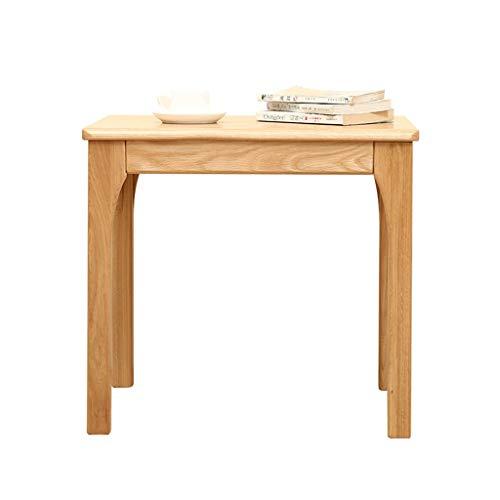 Couchtisch Side Table Holztisch Tatami Platform Niedriger Tisch Balkon Bucht Fenstertisch Chinesische Kleine Quadratische Tabelle Aufbewahrung & Organisation ( Color : Brown , Size : 60*60*55 cm )
