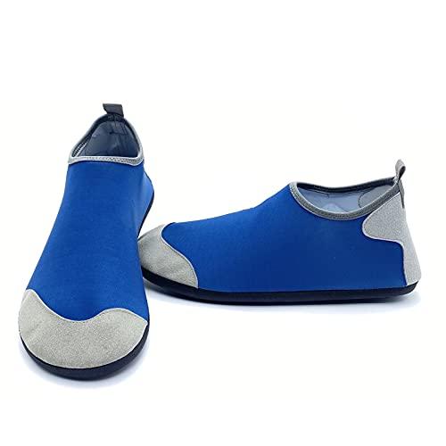 ZHJIUXING ST Hombre Mujer Zapatos de Agua Playa Escarpines Zapatillas de Deportes Acuáticos Buceo Surf Snorkel Yoga Piscina, A, XXL