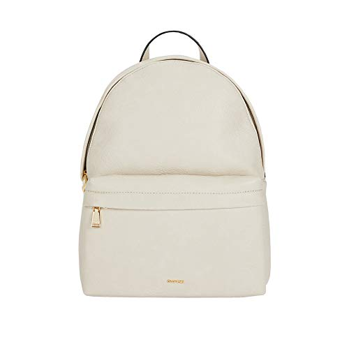 Parfois - Rucksack Mit Außentasche Und Zierkette - Damen - Größe M - Ecru 1