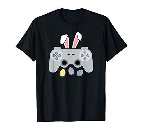 Pasqua Controller Video Game Gaming Gamer Maglietta