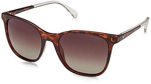 Polaroid PLD 4059/S LA 086 Gafas de Sol, Marrón (Dark Havana/BW Black Brown), 53 para Mujer