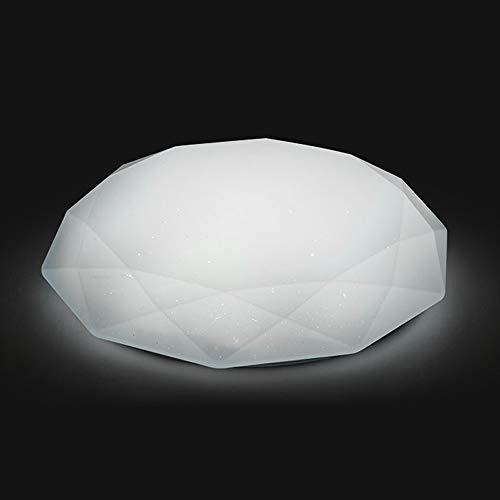 OWSOO Lámpara de Techo WiFi, 48W, Control Remoto de App Cloud Intelligence, Sincronización, Compatible con Amazon Alexa/Google Home/IFTTT, Luz Regulable Techo para Pasillo/Comedor/Dormitorio