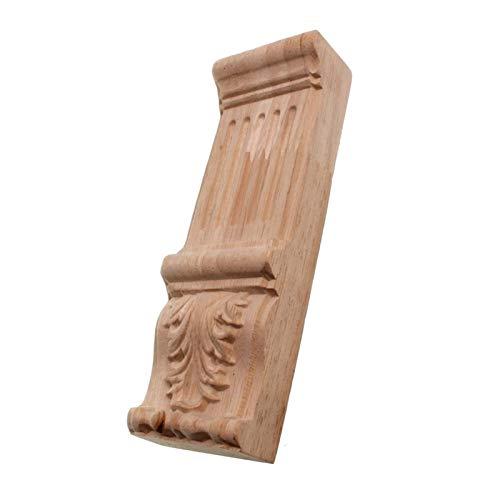 Gaodpz Vintage Legno Intagliato Decalcomania Applique Decorata Cornice Armadio Camino Porta mobili Decorativi Figurine di Legno