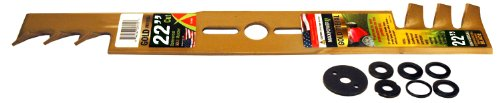 Maxpower 331982B Lawn Mower Replacement Parts, 22 inches, gold