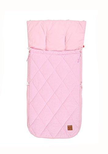 Kaiser Sommer Kinderwagen Fußsack Nikko, rosa melange