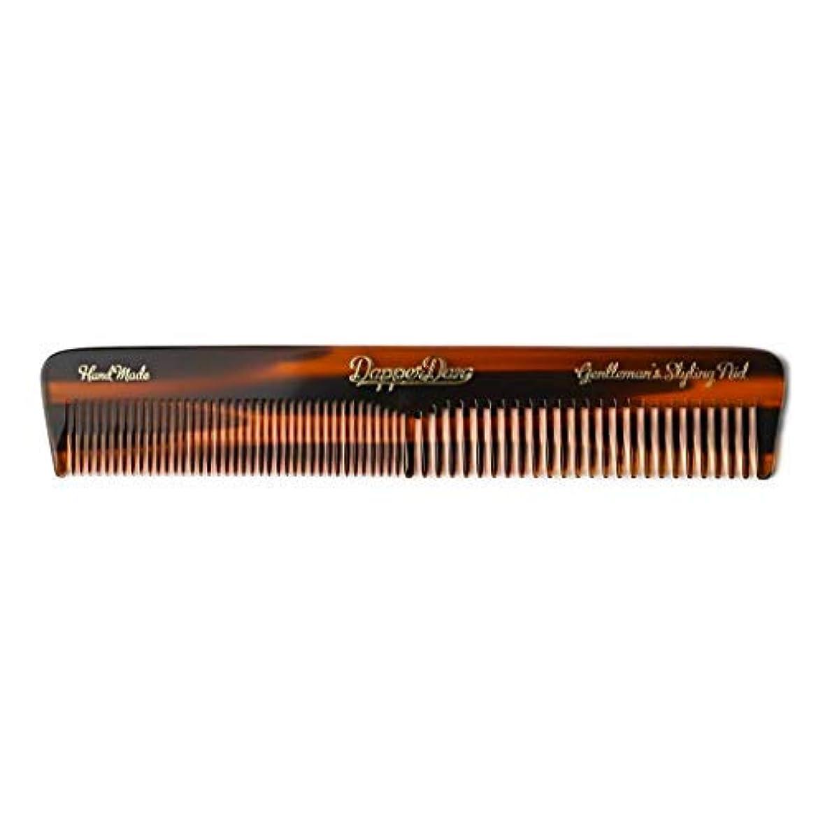 綺麗な能力皮肉Dapper Dan Hand Made Pocket Comb [並行輸入品]