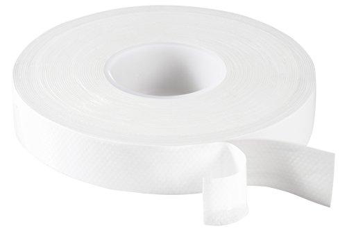 Poppstar selbstverschweißendes Universal Isolierband und Dichtungsband, LxBxH 10m x 19mm x 0,76mm, 1x Rolle weiß