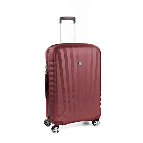 Roncato Maleta Mediana M Rigida Uno Zsl Premium 2.0 - cm 72 x 46.5 x 24 Capacidad 72 L, Ligero, Organización Interna, Cierre TSA, Garantìa 10 años