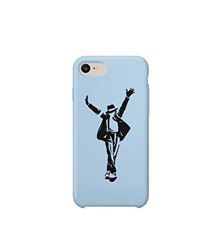 Michael Jackson Mythic Dance Moonwalk iPhone 6 7 8 X Plus Phone Case Cover Estuche para Funda de Teléfono De Carcasa Casco Protector Plástico Duro Divertido