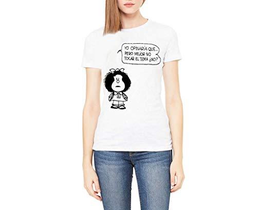 Camiseta Mafalda REFLEXIÓN (XL)