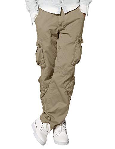 Match Men's Wild Cargo Pants #3357(30,British Khaki)