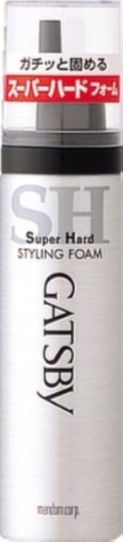 相対サイズインタラクション困ったギャツビー スタイリングフォーム スーパーハード(ハンディ) 65g