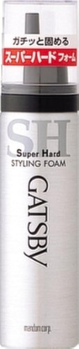 表現あざ好きギャツビー スタイリングフォーム スーパーハード(ハンディ) 65g