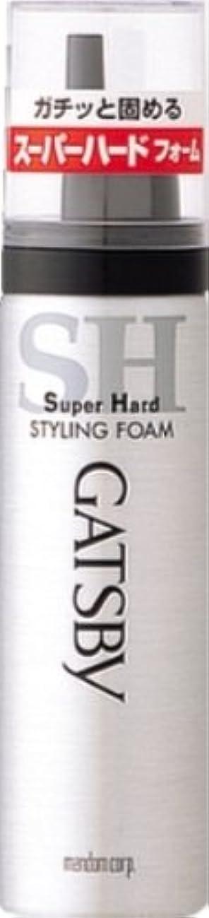 に沿って昼寝鑑定ギャツビー スタイリングフォーム スーパーハード(ハンディ) 65g