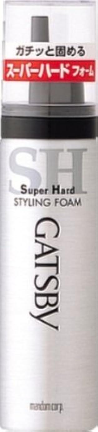 白いディンカルビルピクニックをするギャツビー スタイリングフォーム スーパーハード(ハンディ) 65g