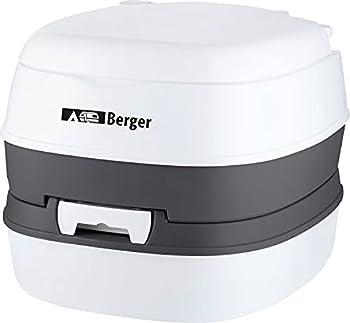 Berger © WC Mobiles Comfort Toilettes de Camping Toilettes Chimiques Camping jusqu'à 130 kg Pompe