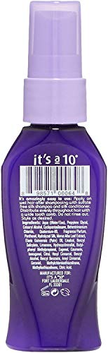 It's a 10 Haircare Silk Express Miracle Silk Leave-In, 2 fl. oz.