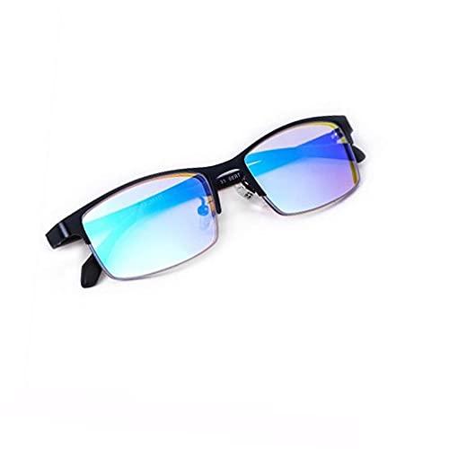 WOGQX Gafas De Ceguera Verde-Verde Adecuadas para Gafas De Corrección De Ceguegos De Color Rojo Y Verde, Gafas Auxiliares Ópticas De Ceguera De Color Exterior E Interior